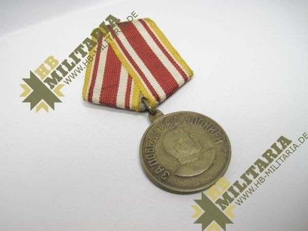 Medaille Stalin/ Sowjetunion, Sieg über Japan 9. September 1945. -12054