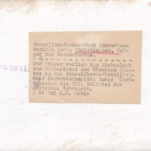 Original Pressefoto von Georg Christiansen. Schnellbootflottille.-12124