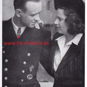 Foto Oberleutnant zur See Gerd Suhren.-0