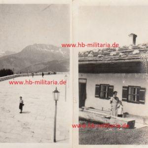 IMG 0001 2 300x300 - 2x Privatfotos Obersalzberg. Platterhof 1942.