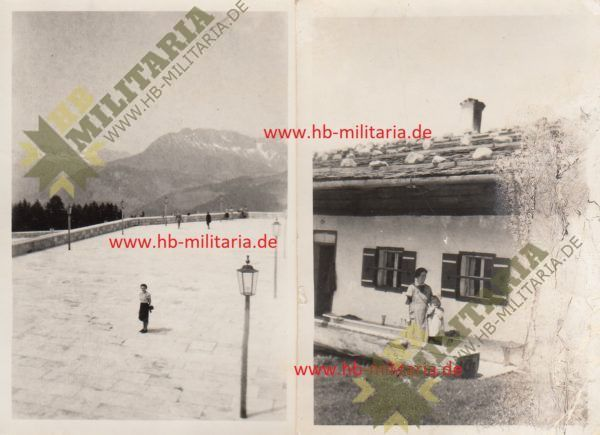 IMG 0001 2 600x435 - 2x Privatfotos Obersalzberg. Platterhof 1942.