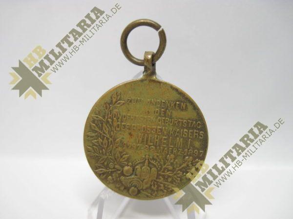IMG 5968 600x450 - Preußen: Centenarmedaille 1897. Reduktion.