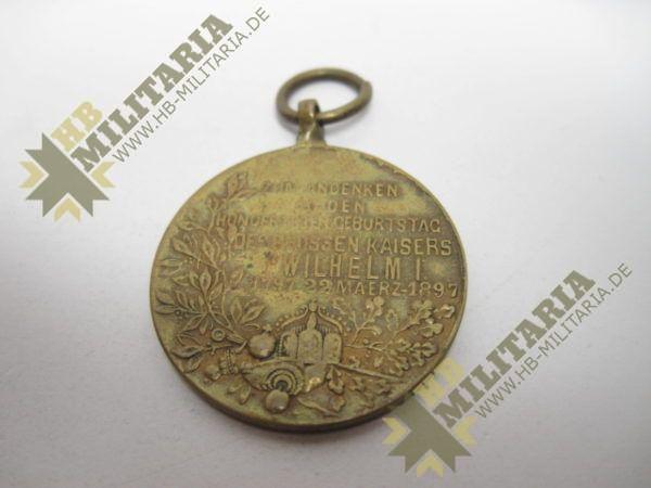 IMG 5970 600x450 - Preußen: Centenarmedaille 1897. Reduktion.