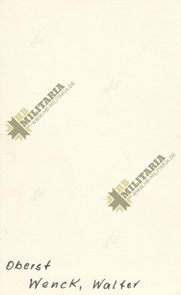 IMG 0002 4 600x975 - Foto mit originaler Unterschrift/ Signatur Walther Wenck. 12. Armee- VERKAUFT- SOLD