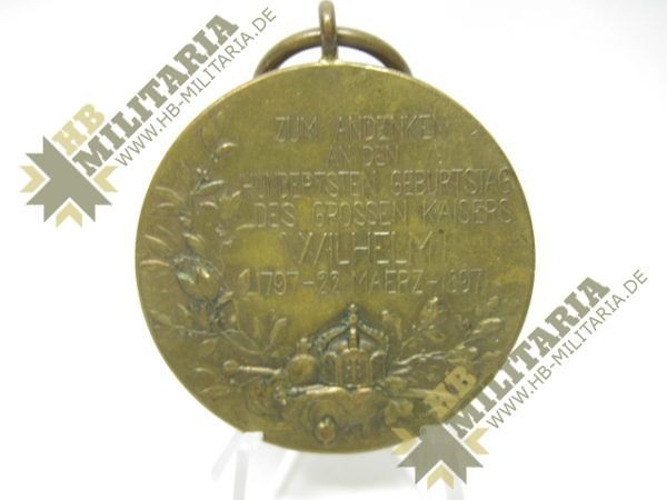 IMG 6017 600x450 - Preußen: Centenarmedaille 1897