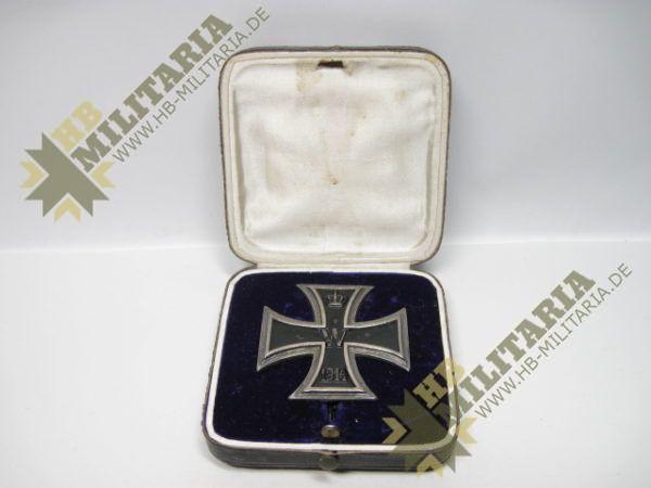 IMG 6052 1 600x450 - Preußen Eisernes Kreuz 1914 1.Klasse im Etui.