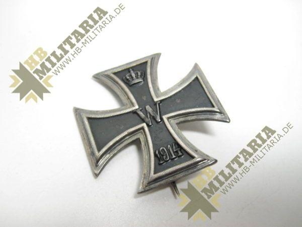 IMG 6065 600x450 - Preußen Eisernes Kreuz 1914 1.Klasse im Etui.
