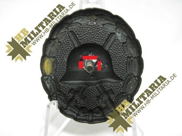 IMG 6984 600x450 - Verwundetenabzeichen Legion Condor in schwarz