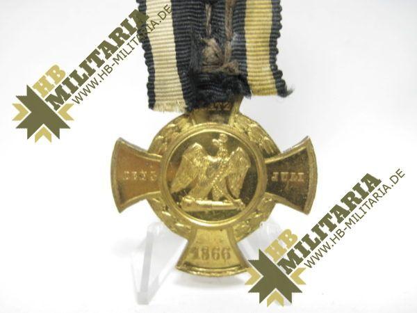 """IMG 7179 600x450 - Preußen Erinnerungskreuz """"Königgrätz"""" 1866- VERKAUFT- SOLD"""
