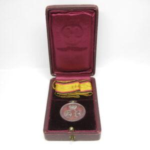 IMG 8204 300x300 - Waldeck: Silberne Verdienstmedaille 1. Typ im Etui