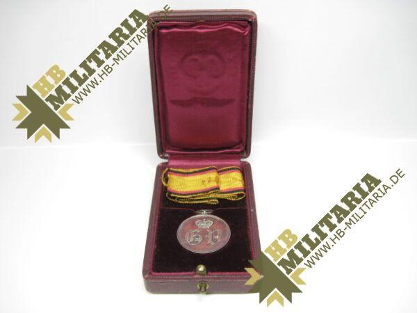 IMG 8204 600x450 - Waldeck: Silberne Verdienstmedaille 1. Typ im Etui
