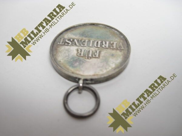 IMG 8217 600x450 - Waldeck: Silberne Verdienstmedaille 1. Typ im Etui