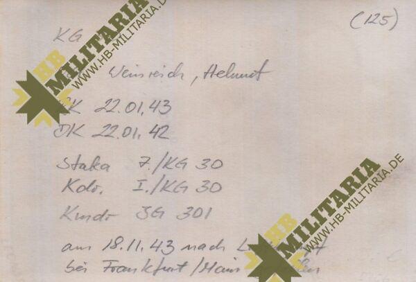 IMG 20200603 0004 600x407 - Foto Ritterkreuzträger Helmut Weinreich. KG30- VERKAUFT- SOLD