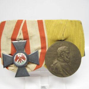 IMG 9054 300x300 - Preußen: 2er Ordensspange Roter Adlerorden 4. Klasse mit Centenarmedaille