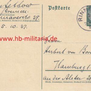 IMG 20201028 0002 300x300 - Postkarte mit OU von Lettow Vorbeck