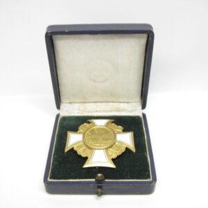 IMG 9243 300x300 - Preußischer Landeskriegerverband: Kriegervereins- Ehrenkreuz 1. Klasse im Etui