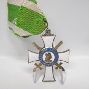IMG 9409 300x300 - Königreich Sachsen: Albrechts Orden Ritterkreuz 2. Klasse mit Schwertern
