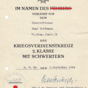 IMG 20210424 0051 300x300 - Urkunde zum KVK zweite Klasse. OU Erich Brandenberger
