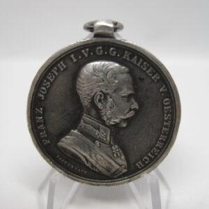 IMG 2735 300x300 - Österreich: Medaille Kaiser Franz Joseph I. 1848- 1916